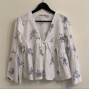Zara | linen shirt